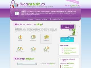 Creaza un Blog