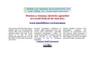 Agentia Imobiliara Euromon